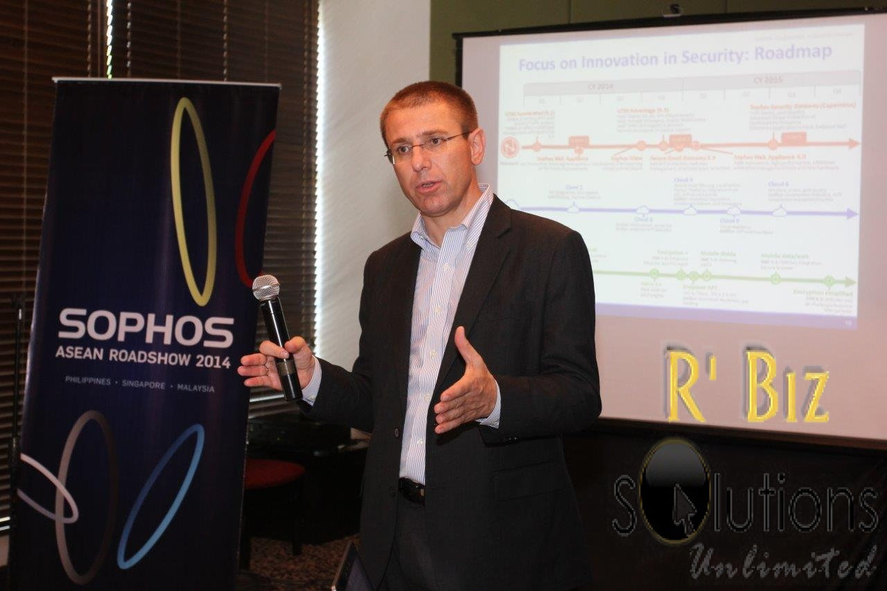 Sophos in Leader's Quadrant in 2014 Unified Threat Management Magic Quadrant for 3rd Consecutive Year