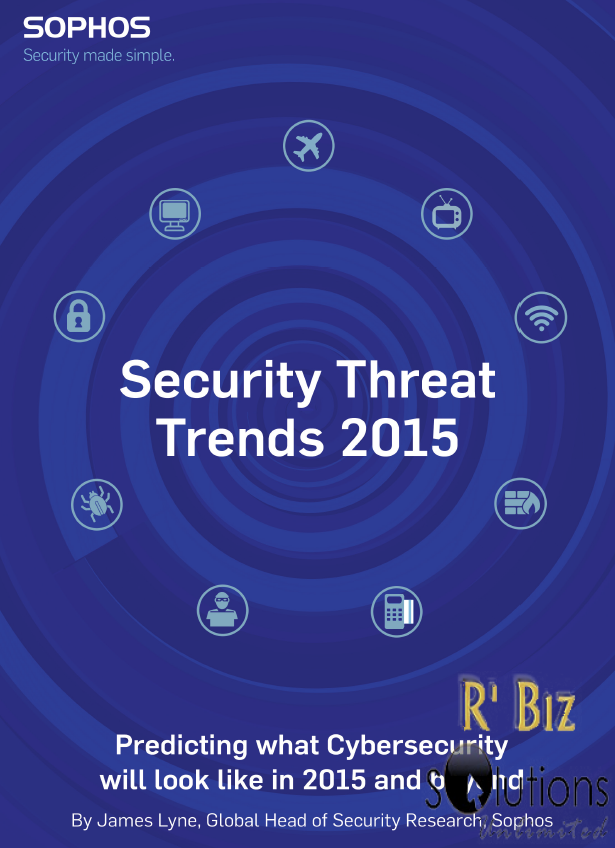 Sophos reports security threat trends 2015
